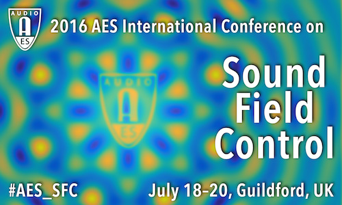 AES Conference on Sound Field Control