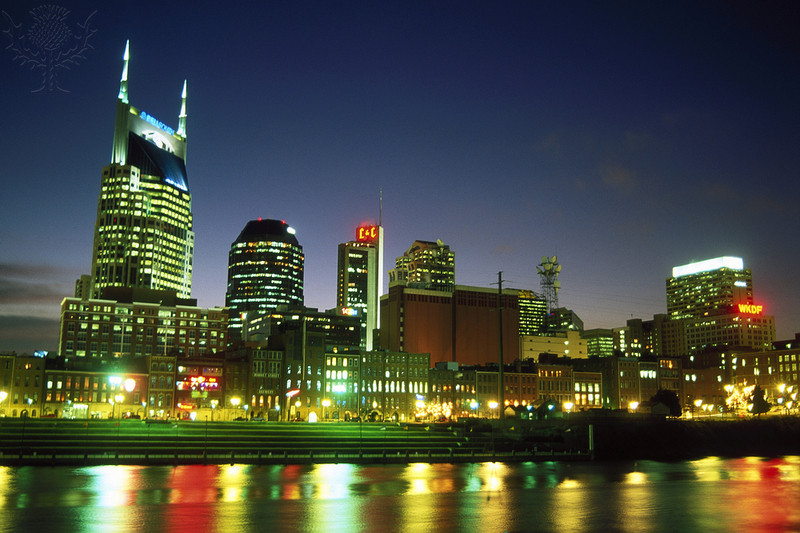 Nashville night skyline