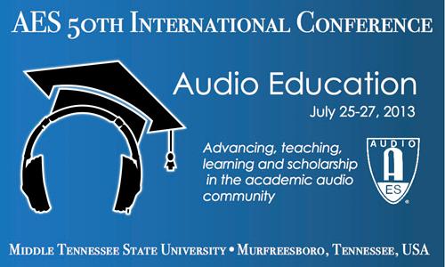 AES 50th Conference Weblogo