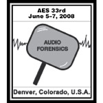 AES 33rd Conference - Denver, CO, USA