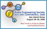 34th AES Conference in Jeju Island, Korea