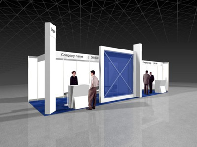 Standard Booth Meeting Area