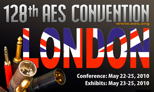 128th AES Convention in London