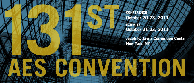 131st AES Convention / New York, NY / Javits Center