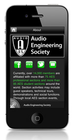 AES Mobile App: iPhone