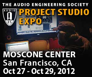 AES Announces Project Studio Expo Schedule for 133rd Convention