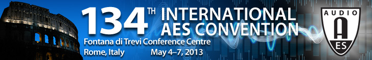 AES 134th Convention