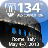 Mobile App for AES Rome 2013 Now Available