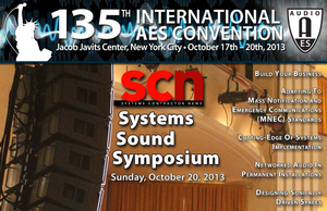 "135th Audio Engineering Society Convention to Feature First-Ever ""Systems Sound Symposium"" Sessions"