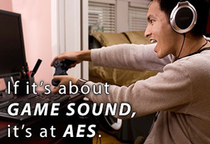 Game Audio to Be Highlighted at 135th Audio Engineering Society Convention