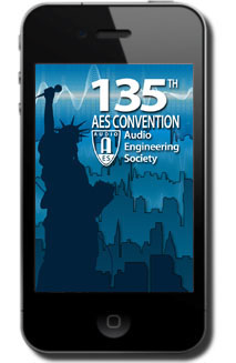 "Enhance the Convention Experience with Free ""AES Mobile Convention – AES New York 2013"" Mobile App"