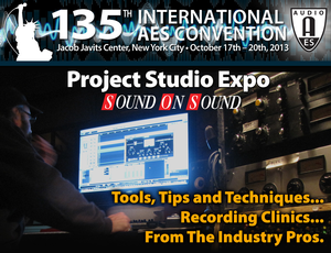 135th Audio Engineering Society Convention to Feature Project Studio Expo