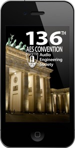 "Enhance Your AES 136th International Convention Experience with Free ""AES Mobile Convention – AES Berlin 2014"" Mobile App"