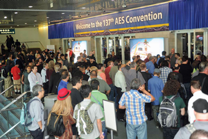 137th Audio Engineering Society Convention Breaks Records and Draws Acclaim from Attendees, Exhibitors and Presenters Alike