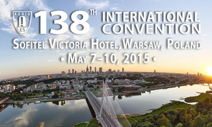 AES 138th International Convention in Warsaw, Poland Begins May 7th