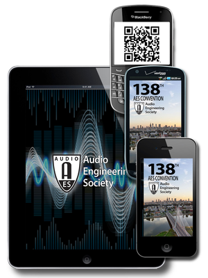 AES Events Mobile App - The Easiest Way to Navigate the AES138 Convention