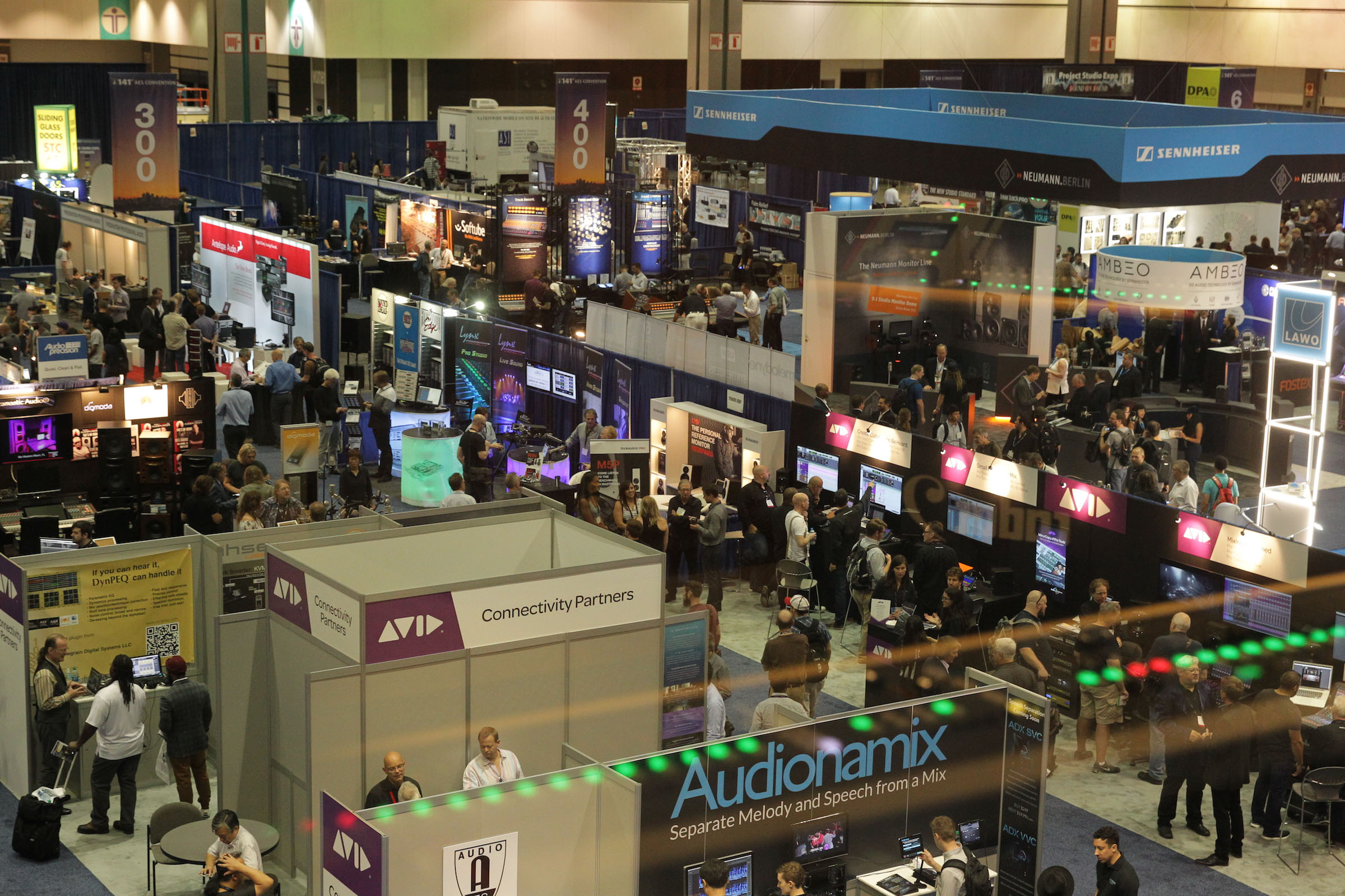 AES Press Release: AES Los Angeles 2014 » 137th Audio