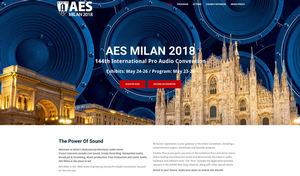 Italian Professional Audio Manufacturers Embrace AES Milan Convention