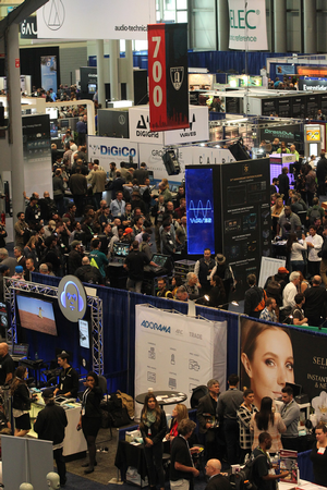 AES New York Exhibitors Reach Maximum Audio Outreach Potential with Convention Attendees