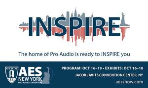 AES New York Convention Early Bird Registration Open Now – Committee and Program Topics Announced