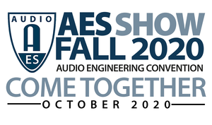 AES Show Fall 2020 Convention Early Bird Registration Ends August 31
