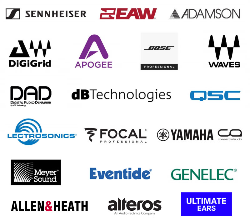 Pro Sound Symposium Supporters