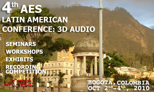 4th AES Latin American Conference: 3D Audio