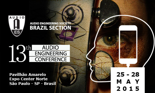 AES 13th Brasil Conference
