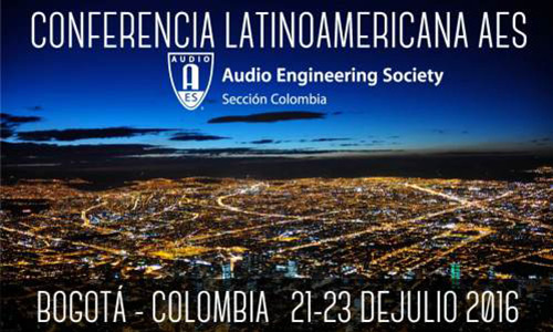 Conferencia Latinoamericana AES Colombia 2016