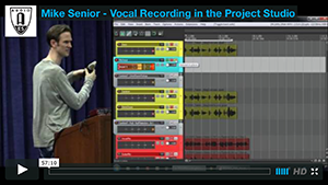 Mike Senior: Vocal Recording in the Project Studio