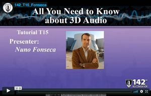 Nuno Fonseca: All You Need to Know about 3D Audio