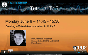Christine Webster: Creating a Virtual Acousmonium in Unity5