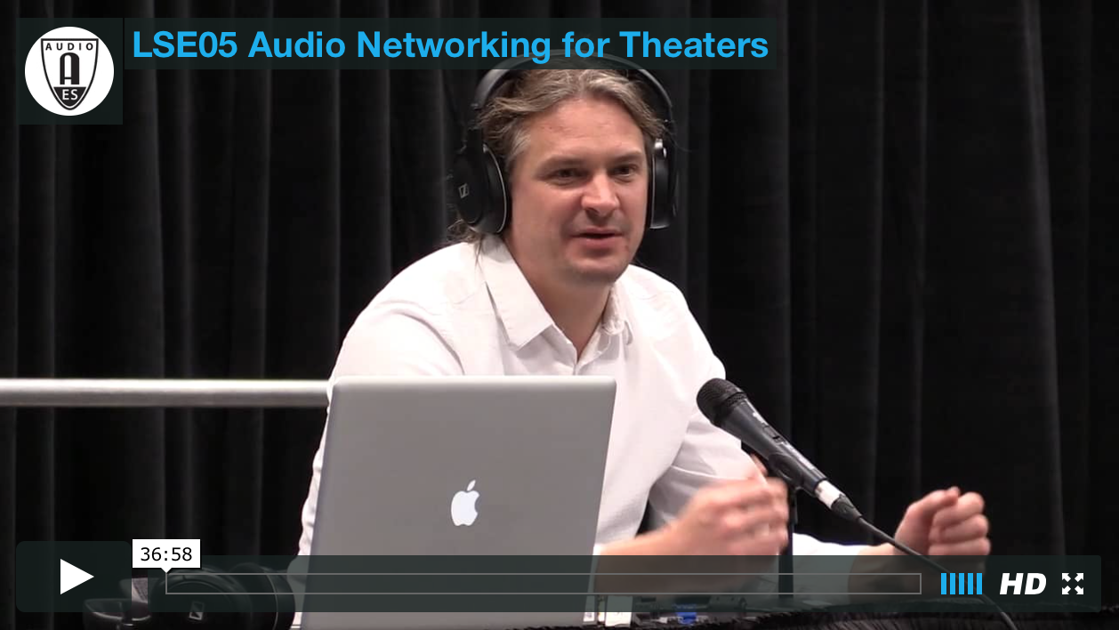Marc Brunke: Audio Networking for Theater