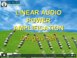 Douglas Self: Linear Audio Power Amplification