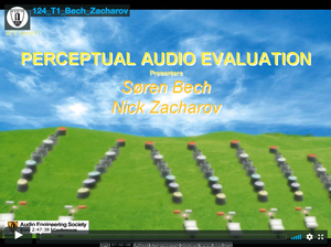 Perceptual Audio Evaluation