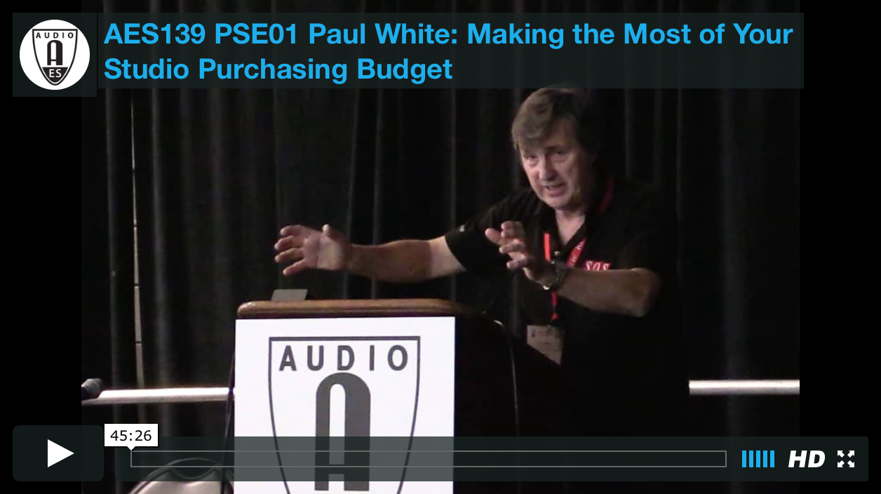 Paul White: Making the Most of Your Studio Purchasing Budget