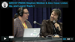 Stephen Webber & Alex Case: Listen Up, and Learn!-Track 1