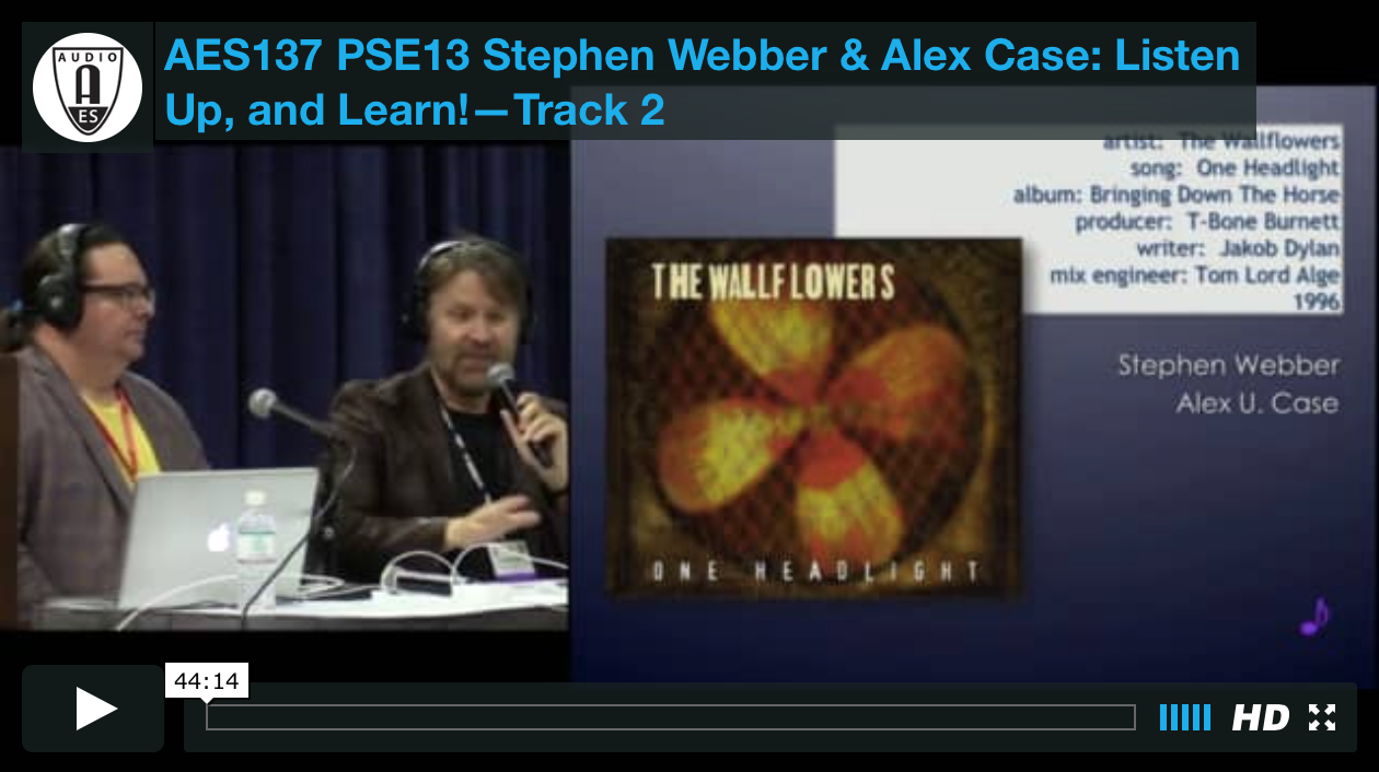 Stephen Webber & Alex Case: Listen Up, and Learn!—Track 2