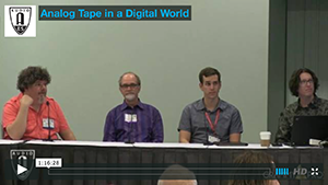 Analog Tape in a Digital World