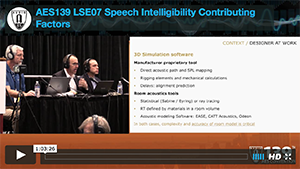 Speech Intelligibility: Contributing Factors