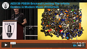Brian M. Jackson: Brickwall Limiting The Infinite Options in Modern Music Production