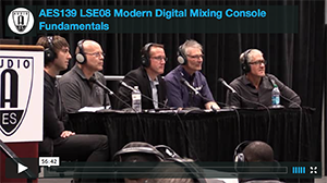 Modern Digital Mixing Console Fundamentals: A Practical and Ergonomic Approach