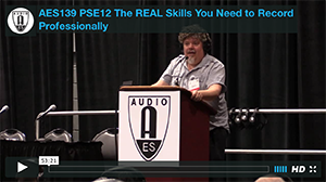 Larry Crane: The REAL Skills You Need to Record Professionally
