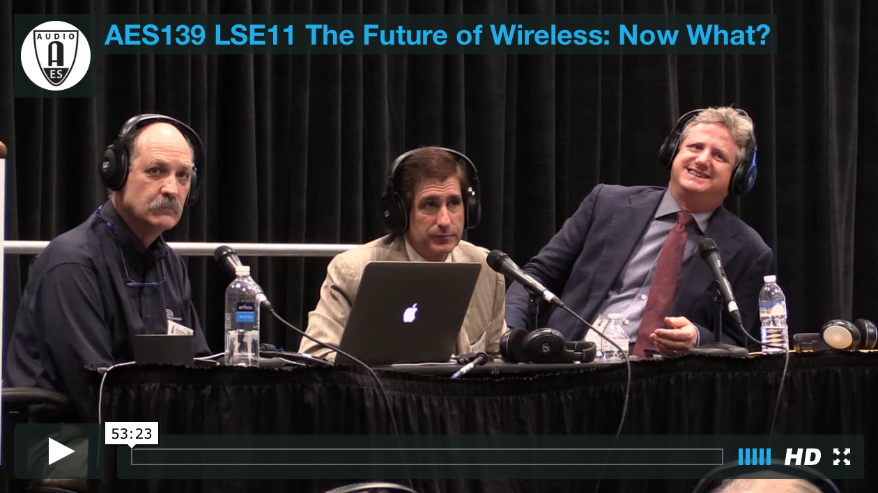The Future of Wireless: Now What?