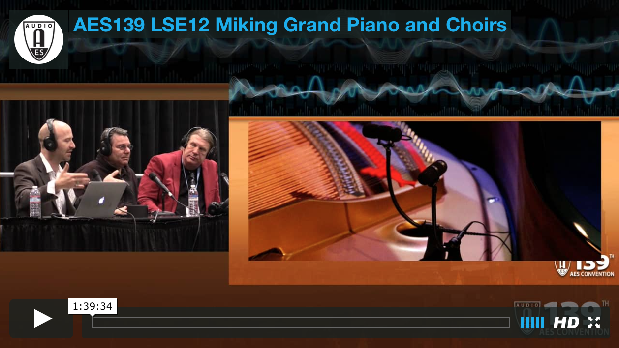 Miking Grand Piano and Choirs