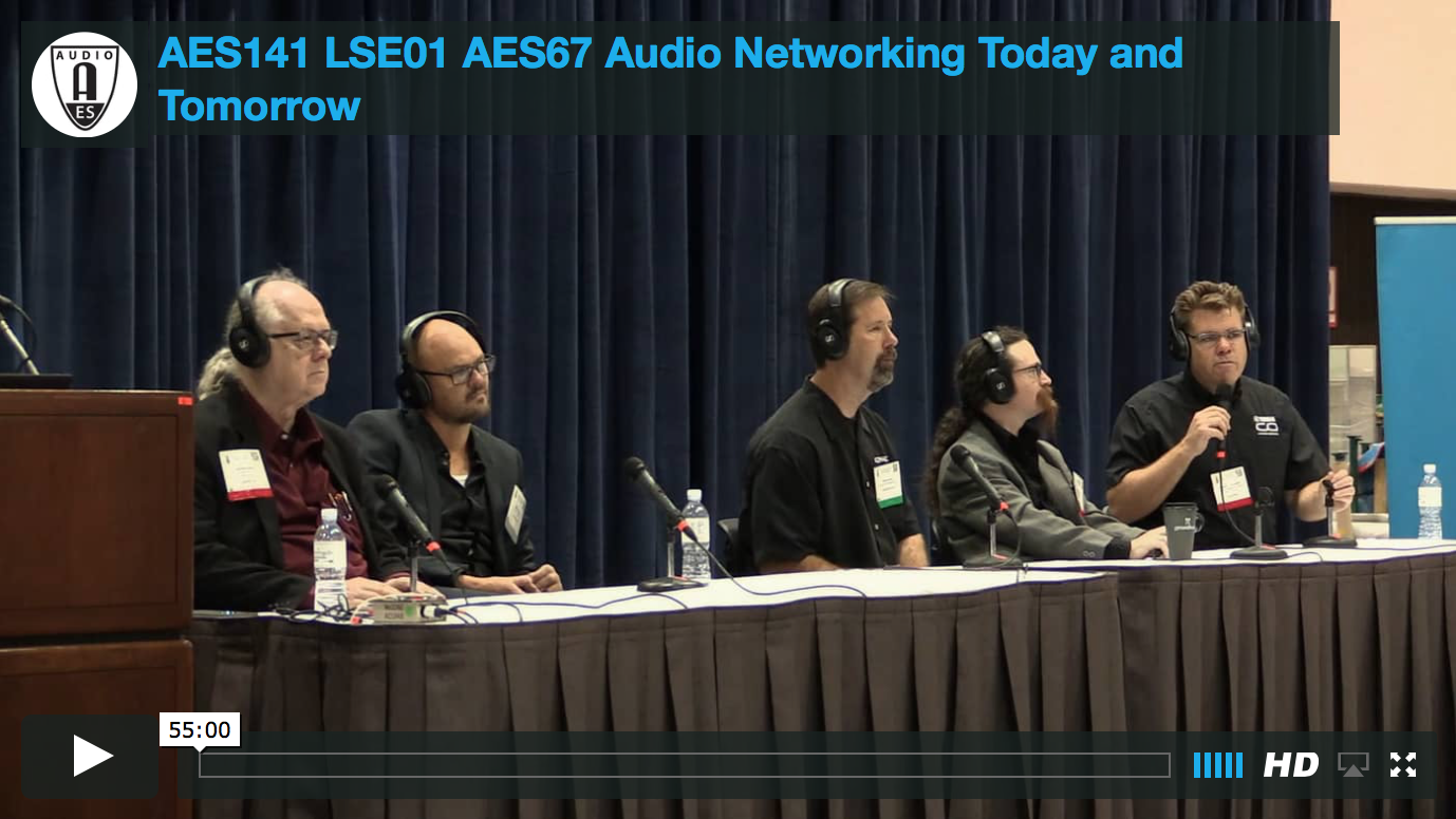 AES67: Audio Networking Today & Tomorrow