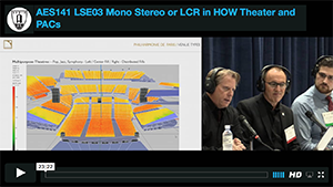 Mono, Stereo or LCR in HOW, Theater, and PACs
