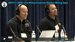 Live Mixing Academy - Monitor Mixing Apps