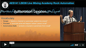 Robert Scovill: Live Mixing Academy - Rock Automation