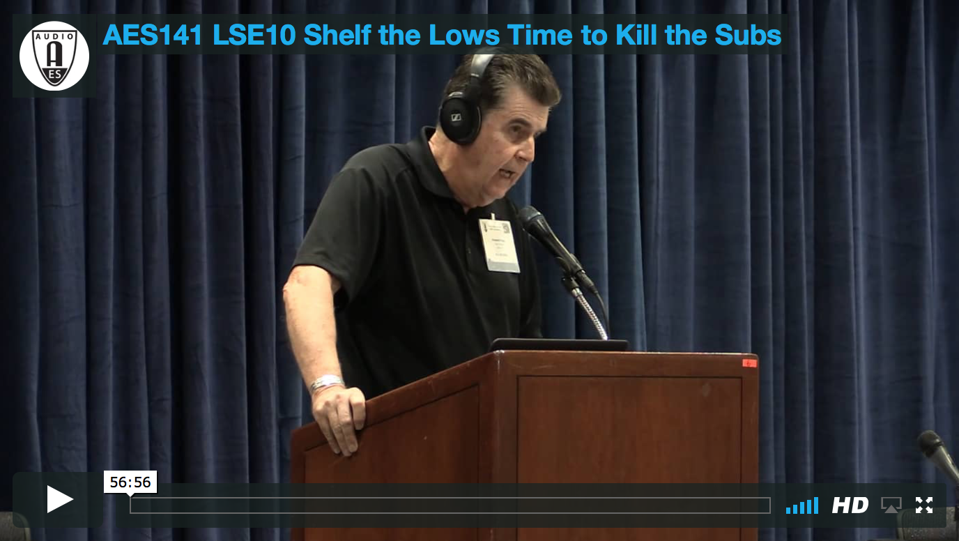 Howard Page: Shelf the Lows: Time to Kill the Subs?